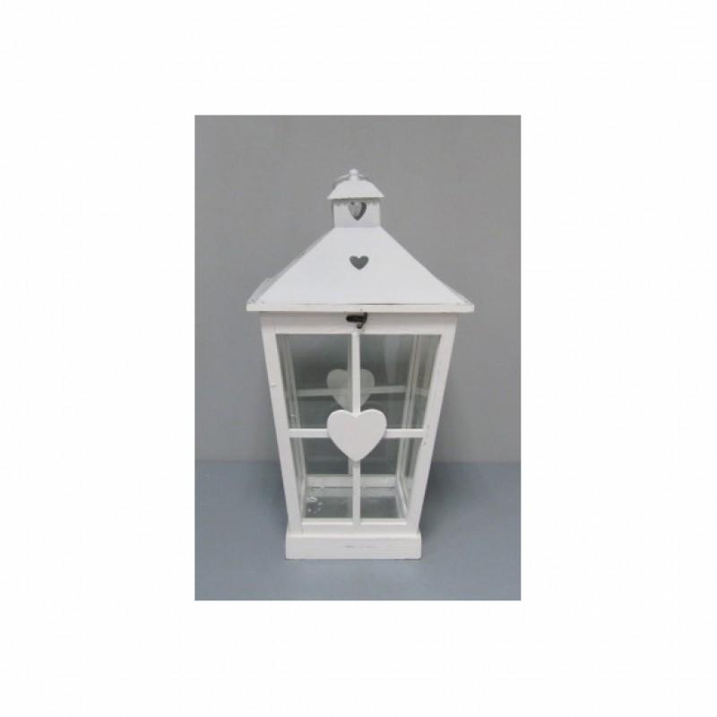 Lanterna legno c cuore 125024p lanterne firenze gandon for Lanterne in legno