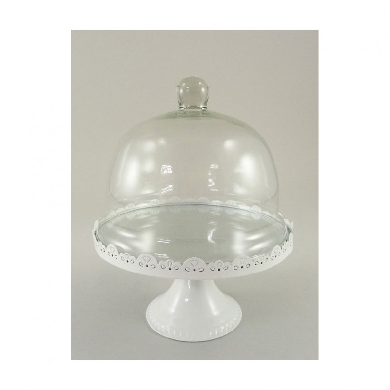 Alzata c cop vetro cm 25 5 213728 complementi d for Complementi d arredo firenze