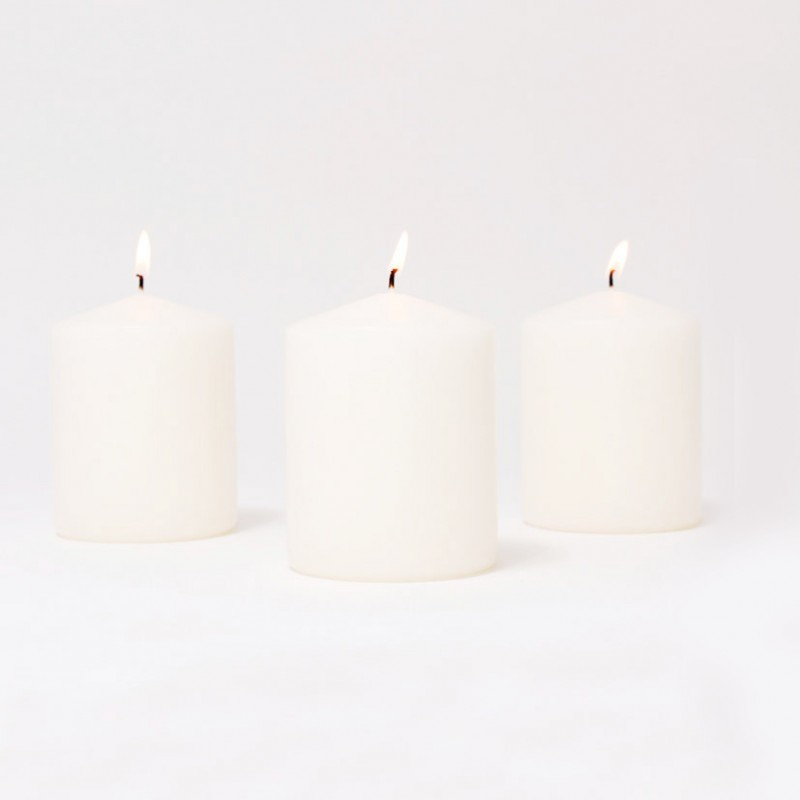 BOX CANDELE MM60X50 PZ 12 -bianco