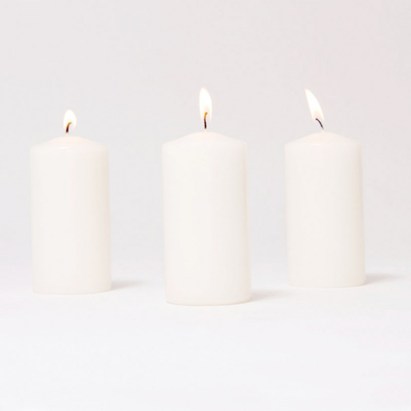 BOX CANDELE MM120X60 PZ 12 -bianco