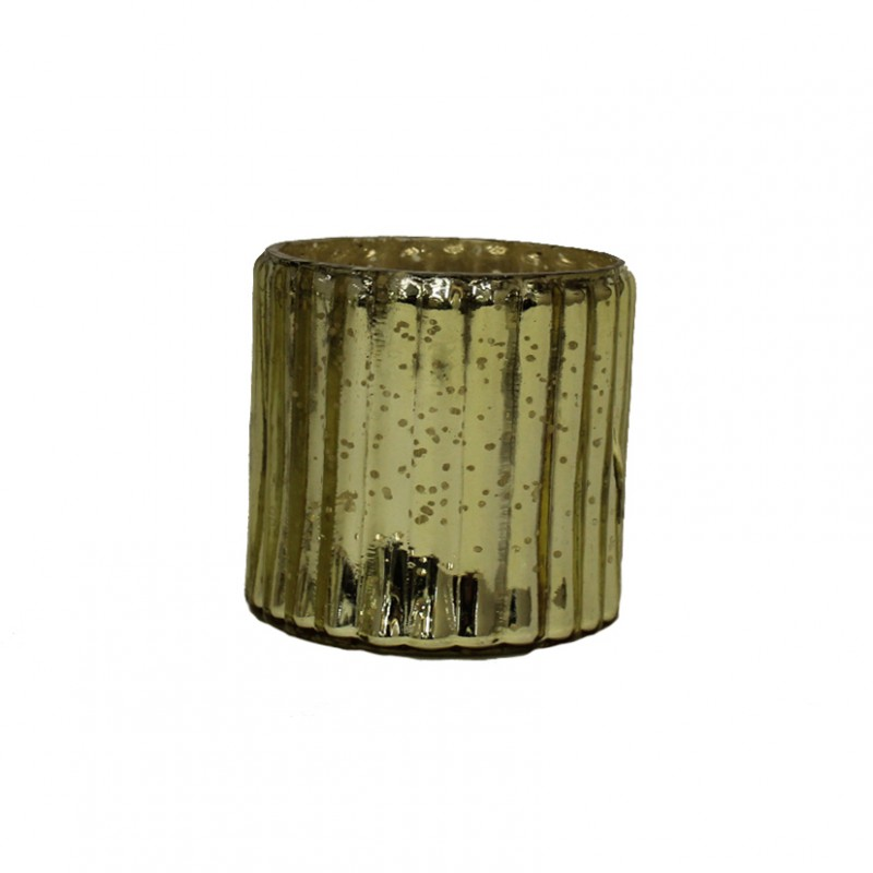 VETRO MERCURY GOLD 8 CM | BZ2219G | votivi - mercury ...
