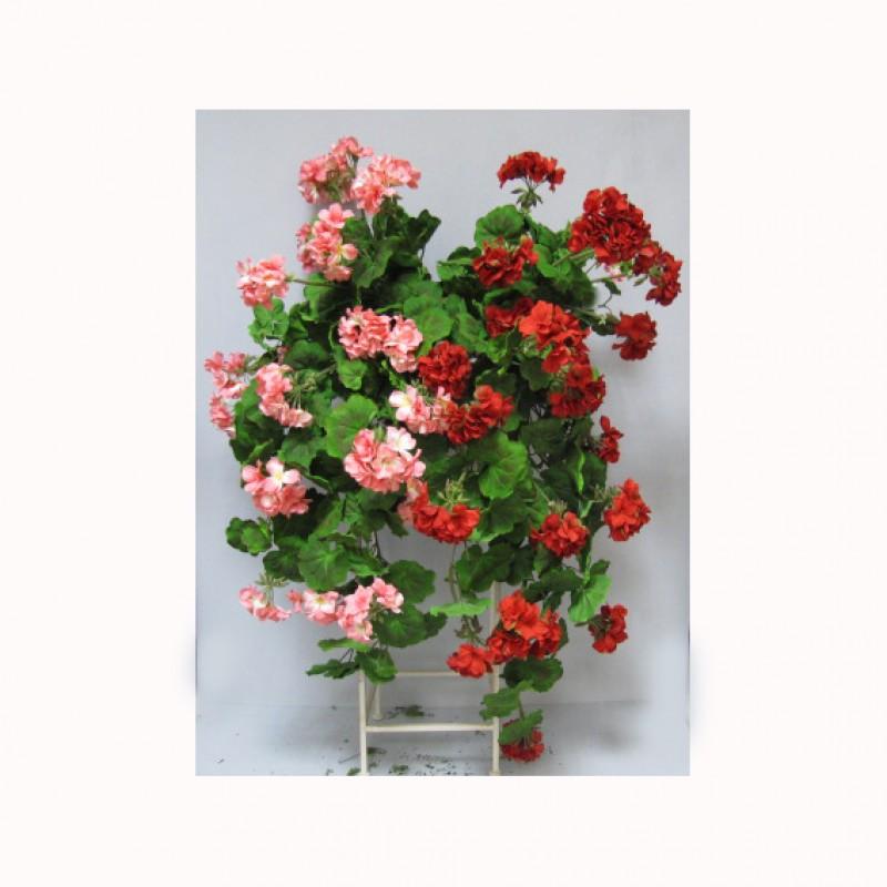Geranium bush x14 ge35 00 2fcm8570 piante e fiori for Fiori artificiali