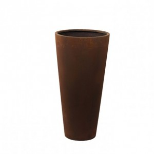 VASO UNIQUE DM45 H90 CM rust