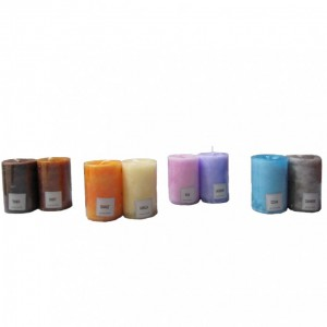 BOX CANDELE 4 PZ 90X60MM PROF.