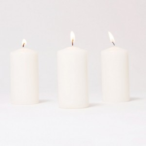 BOX CANDELE MM100X80 PZ6-bianco