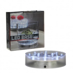 BASE 15 LUCI LED DIAM. 12 CM