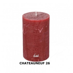CANDELA RUSTICA 12XD6cm - chateauneuf