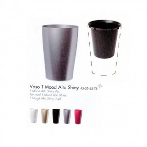 VASO ALTO 75 SHINY + INTERNO
