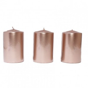 BOX CANDELE MM150X80 PZ 6 rosegold