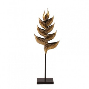 HELICONIA GOLD 23,5X10,2XH68,6CM
