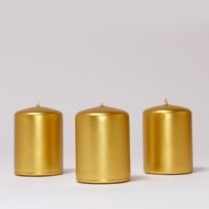 BOX CANDELE MM60X40 PZ 24 gold