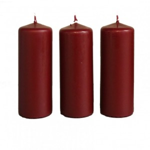 BOX CANDELE MM120X60 PZ 12 bordo'