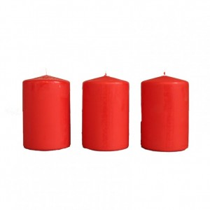 BOX CANDELE MM60X40 PZ 24 rosso