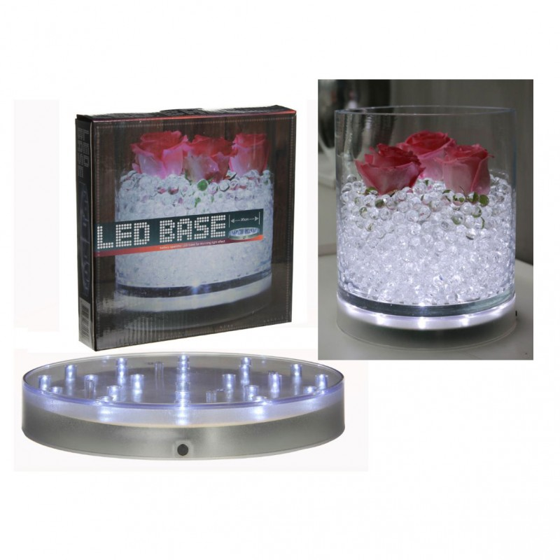 BASE 25 LUCI LED DIAM. 20 CM