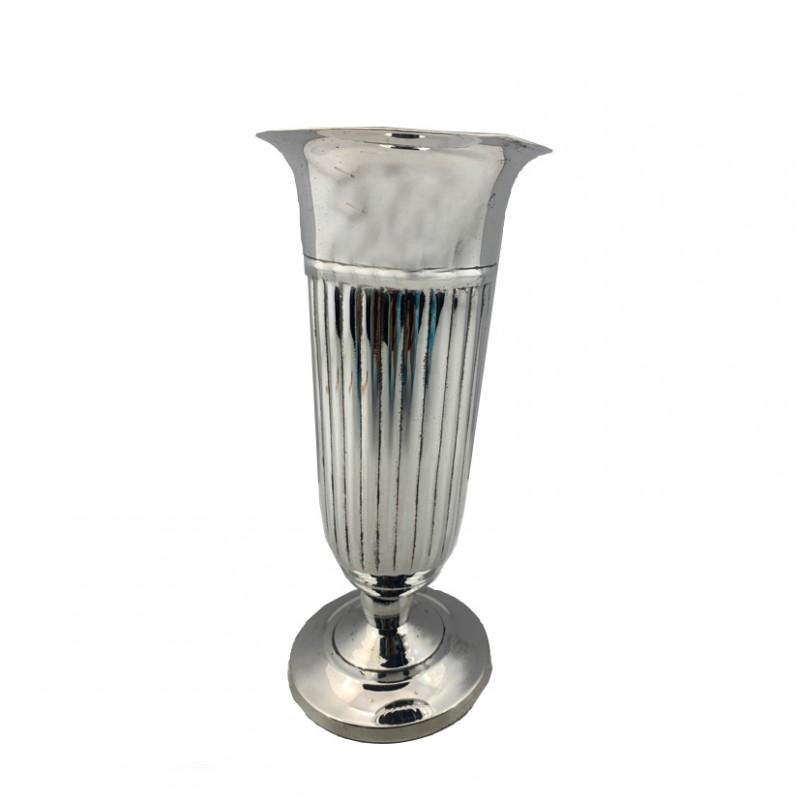 VASO DM9.5H20CM -silver plated | HI4981SILVER | wedding ...