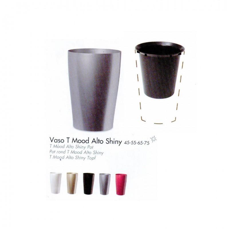Vaso alto 55 shiny interno 7107845574 contenitori for Vaso interno