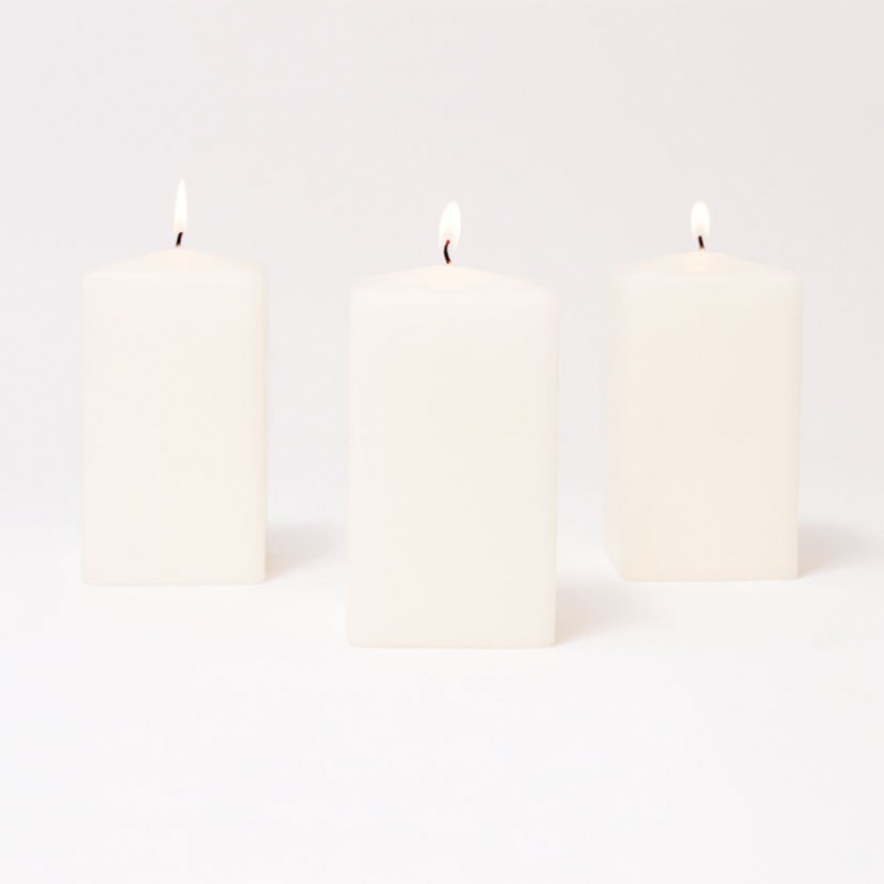 BOX CANDELE 4 PZ MM 100X80X80-lana