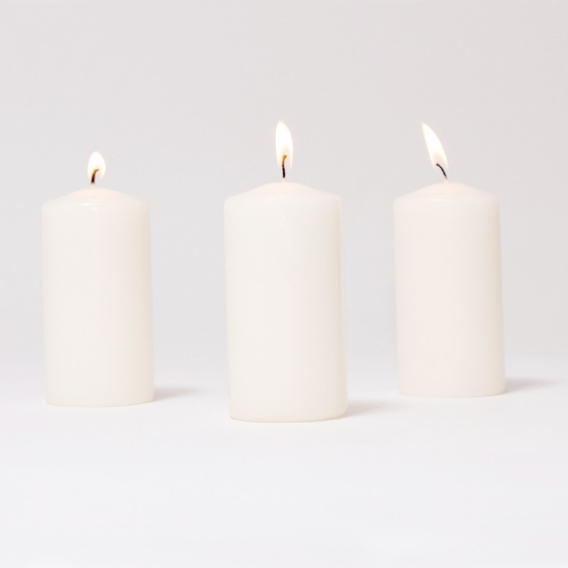 BOX CANDELE MM100X50 PZ 12 -bianco