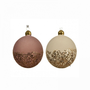 SFERA DEC. ORO 2 ASS. D10 cm