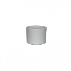 VASO ERA D10,5 H9cm-light grey matt