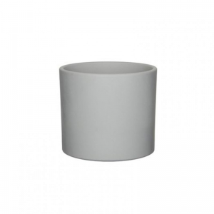 VASO ERA D17,5 H14cm-light grey matt