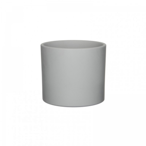VASO ERA D19,5 H17,5 cm - light grey mat