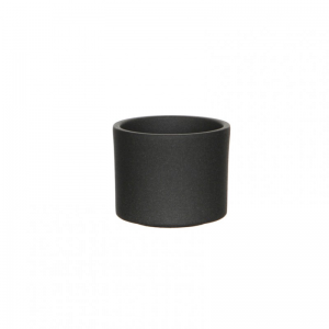 VASO ERA D10,5 H9 cm - dark grey matt