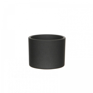VASO ERA D12 H10 cm - dark grey matt