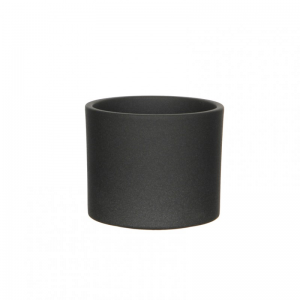 VASO ERA D15 H13 cm - dark grey matt