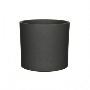 VASO ERA D23 H21,5 cm - dark grey matt
