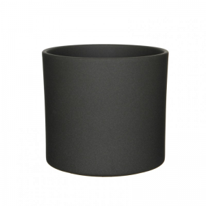 VASO ERA D28 H26 cm - dark grey matt