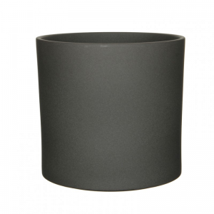 VASO ERA D32,5 H31 cm - dark grey matt