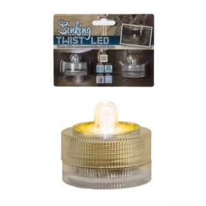 S/2 TEALIGHT LED bianco