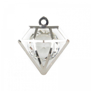 BOX DIAMANTI CM 4,5 PZ 17 ARGENTO