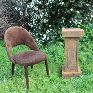 COLONNA IN RESINA 30.5X30.5XH77CM-rust