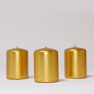 BOX CANDELE MM60X40 PZ 24 -gold