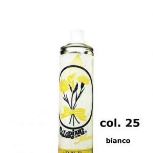 SPRAY COLORANTE 400ML-bianco