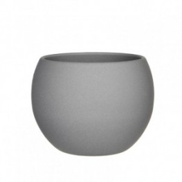 VASO MONET H15 D18CM light grey