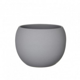 VASO MONET H25 D31,5CM light grey