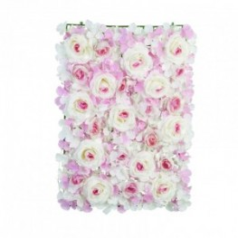 PANNELLO ORTENSIE ROSA 60X40 LED
